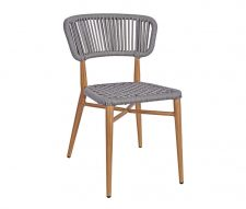 Madrid Outdoor Dining Chairs Grey