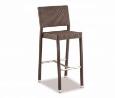 Mano Outdoor Bar Stool Brown