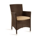 Mano Rattan Tub Chair Brown