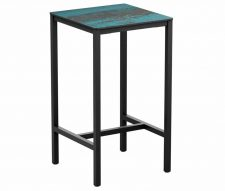Marine Square Poseur Table