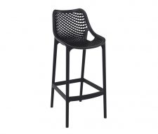 Matilda Outdoor Bar Stools Black