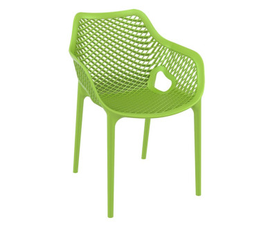 Matilda outdoor stacking chairs for cafes and bars - Chaise de jardin pvc ...