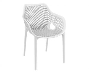 Matilda Outdoor Armchairs White