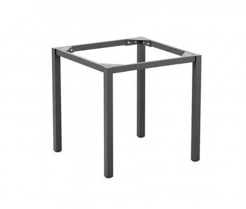 Meta Square Dining Table Base Grey Large