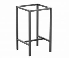 Meta Square Poseur Table Base Grey Small