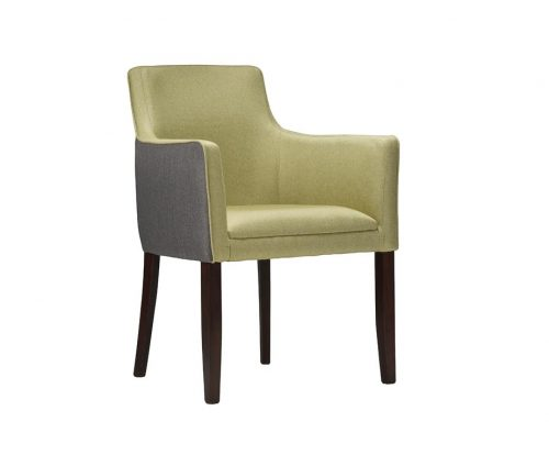 Milan Fully Upholstered Restaurant Armchairs