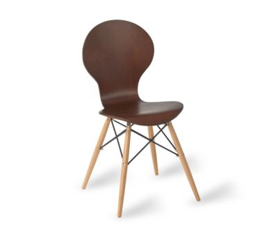 Mile Eames Cafe Chair Wenge