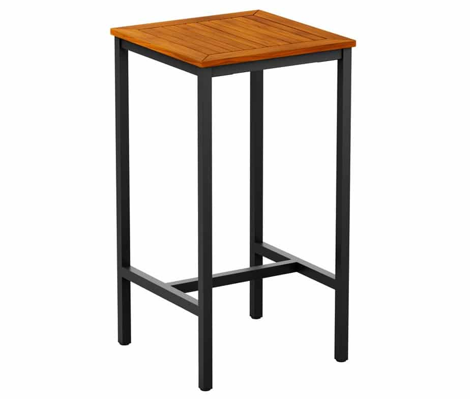 Miller Small Square Outdoor Poseur Table