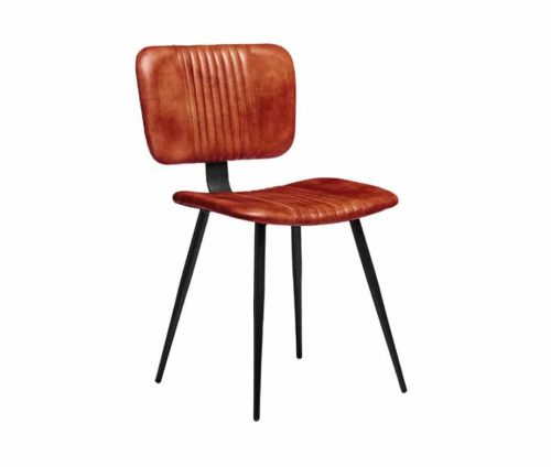 Milo Vintage Leather Dining Chairs