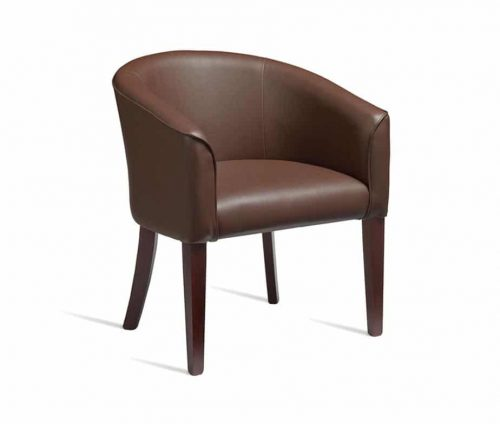 Monroe Tub Chairs Brown
