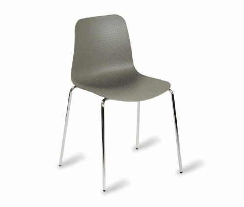 Net Side Chair Frame F Grey