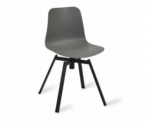 Net Side Chair Frame L Grey