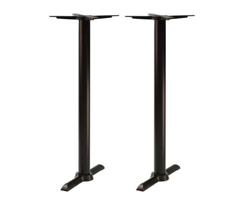 Orlando Twin Pedestal Poseur Tables