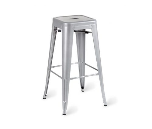 Paris Industrial Vintage High Stool