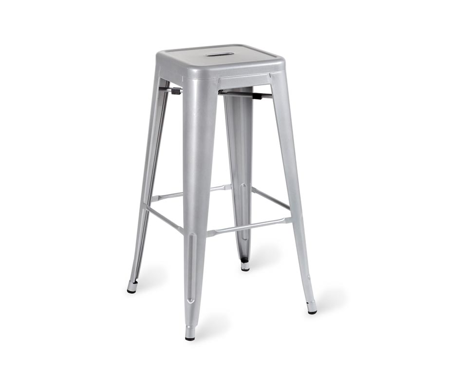 Paris Industrial High Stool Vintage Design Quick Delivery