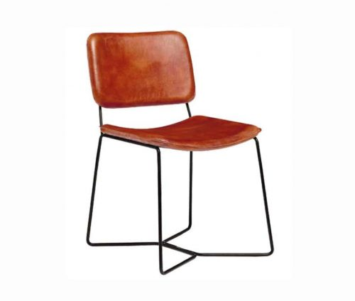 Parker Vintage Leather Dining Chairs