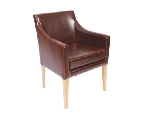 Preston Leather Armchairs