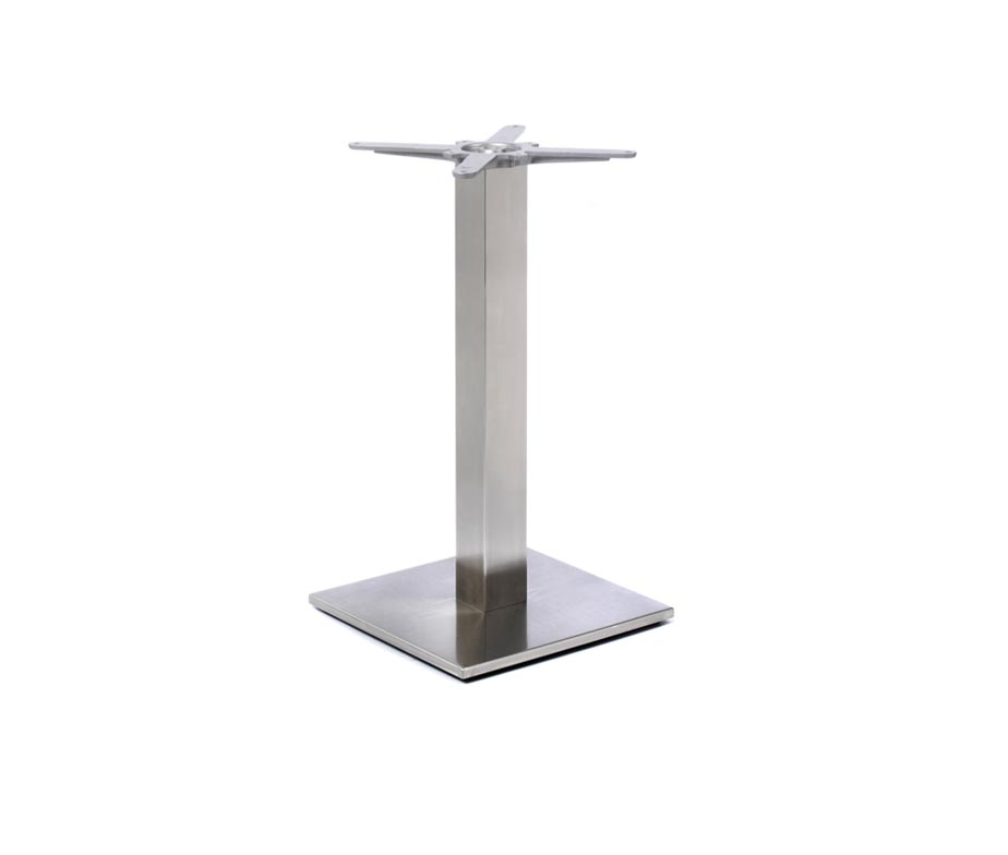 Profile Dining Table Base Stainless Steel