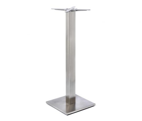 Profile Square Poseur Tables Stainless