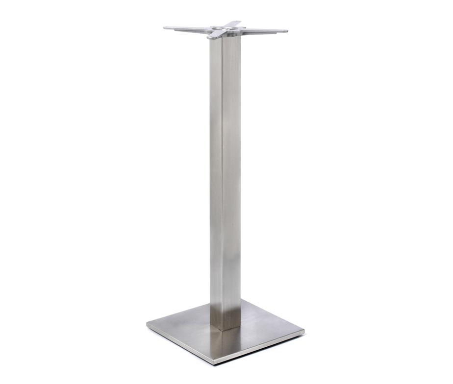 Profile Square Poseur Table Bases For Bars And Pubs