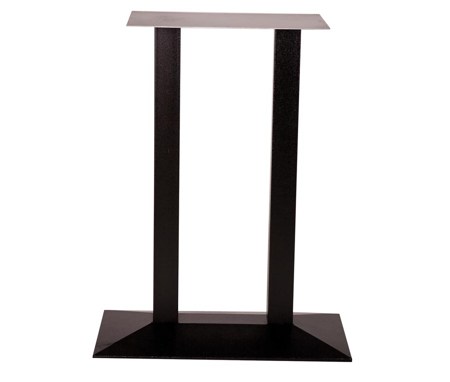Quattro Twin Pedestal Poseur Table Bases For Bars And Pubs