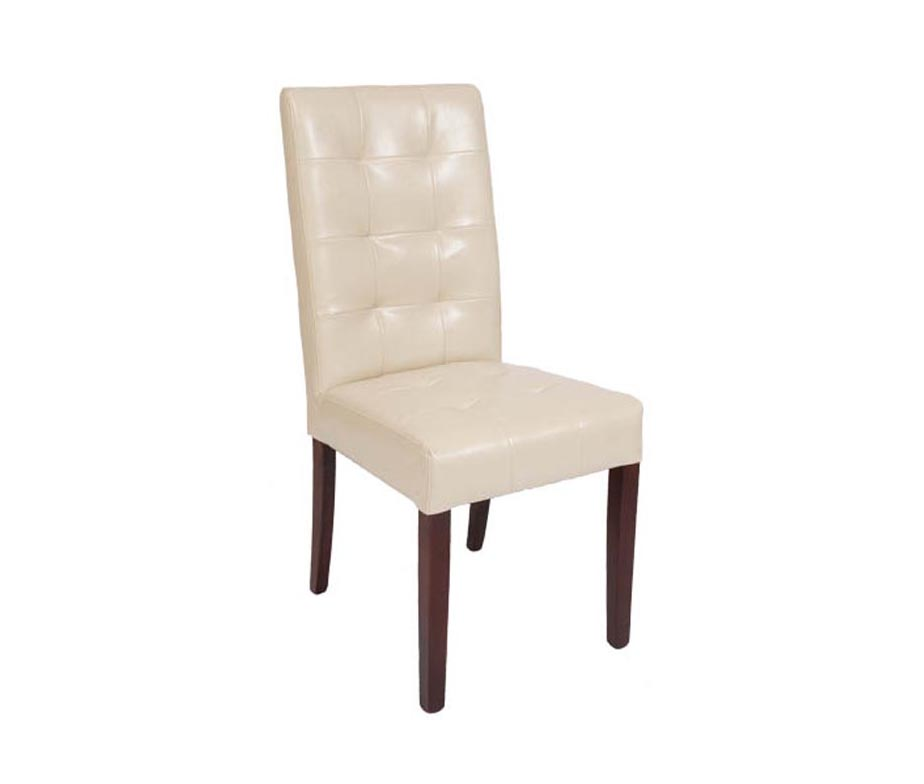 Reading Quilted Back Leather Dining Chairs Quick Delivery
