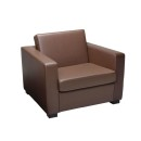 Reception Armchair Brown