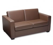 Reception Sofa Brown