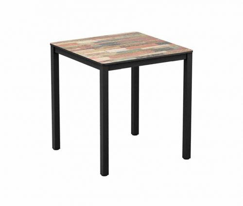 Reclaimed Outdoor Dining Table Square