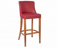 Repton Bar Stools Burgundy
