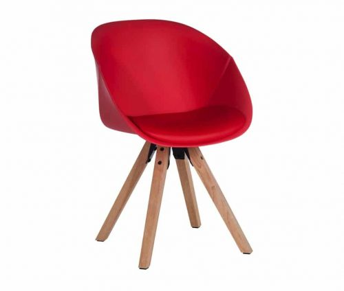 Rotunda Tub Chair Red