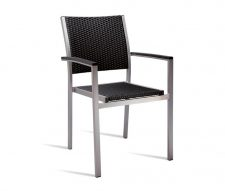 Rustica Outdoor Armchair Black