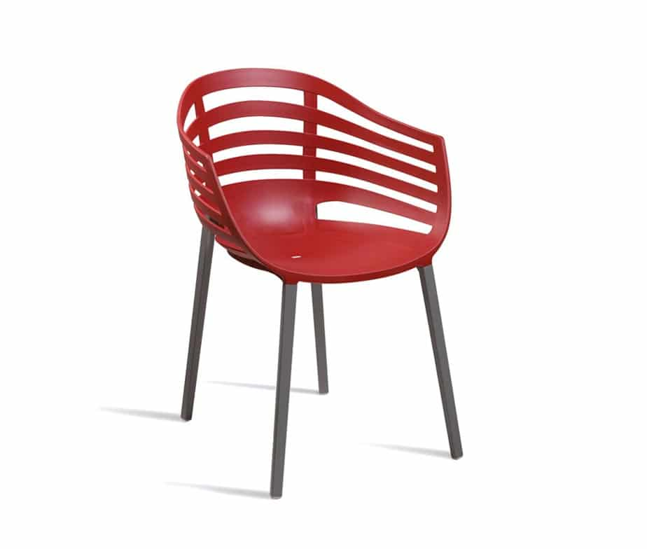 Sangro Contract Armchairs Red