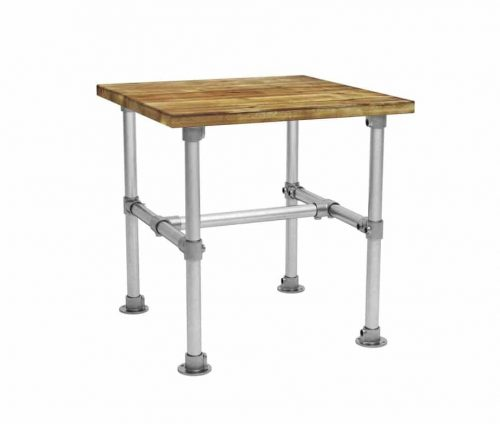 Scaffolding Square Dining Table