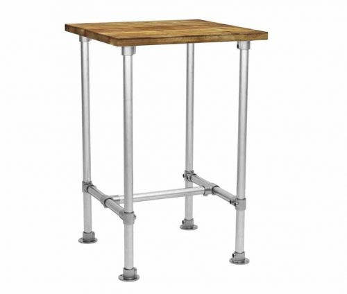 Scaffolding Square Poseur Table