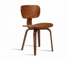 Seventy Side Chair Walnut