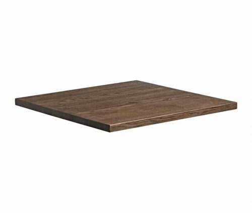 Smoked Oak Table Tops Square