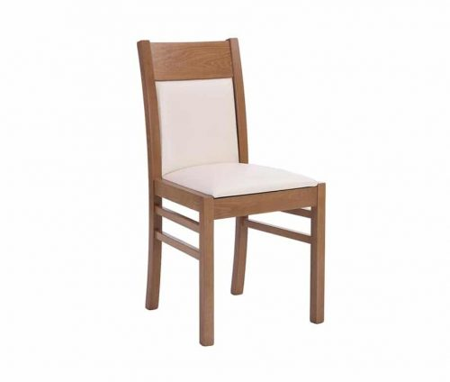 Solaris Dining Chair Oak Cream