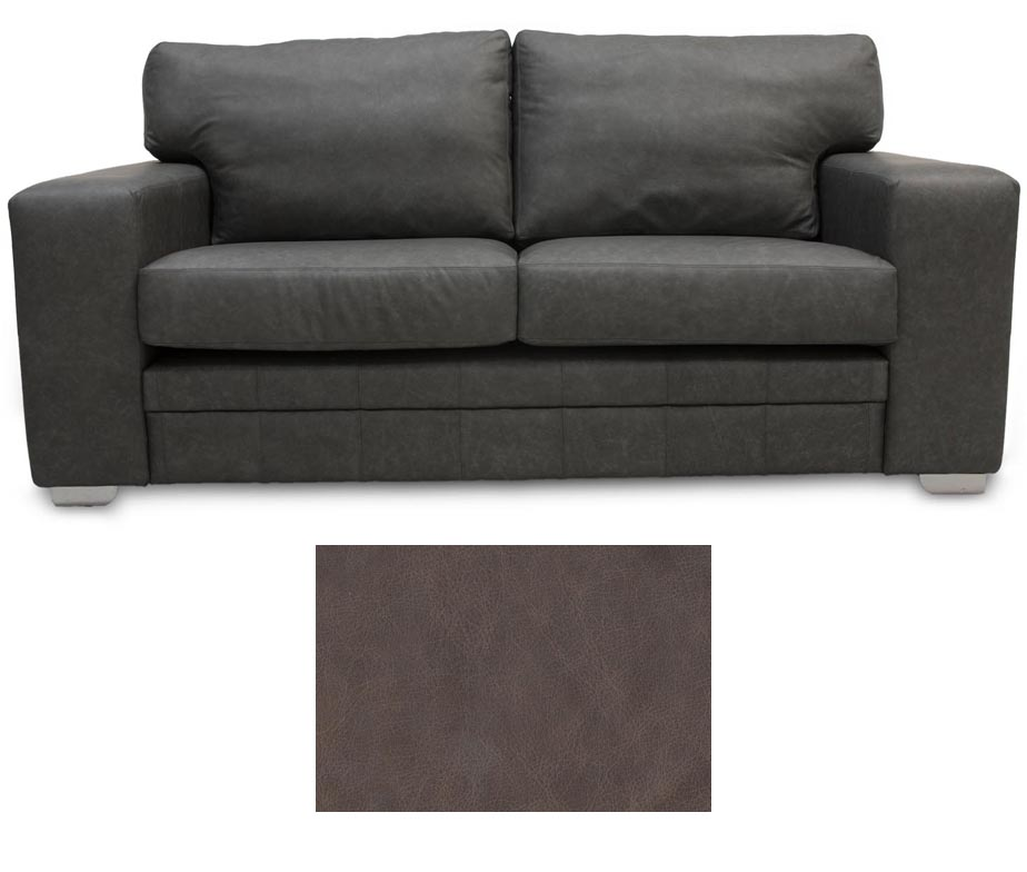 Exceptionnel Square Arm Leather Sofa · Square Arm Leather Heritage Camelot · Square Arm  Leather Heritage Cavalier ...
