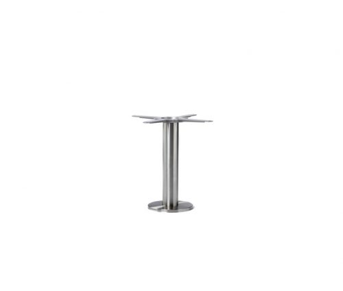 Floor Fixed Stainless Steel Coffee Table