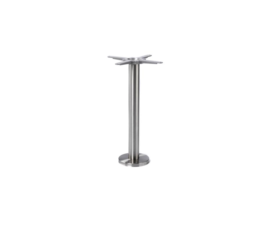 Floor Fixed Stainless Dining Table Bases