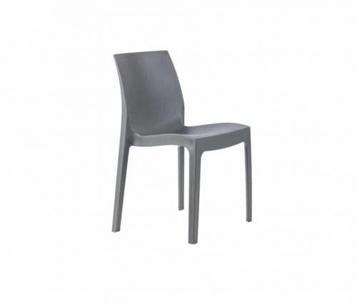 Strata Outdoor Cafe Chairs Grey