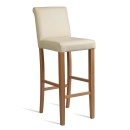 Stratford Upholstered Bar Stools Cream