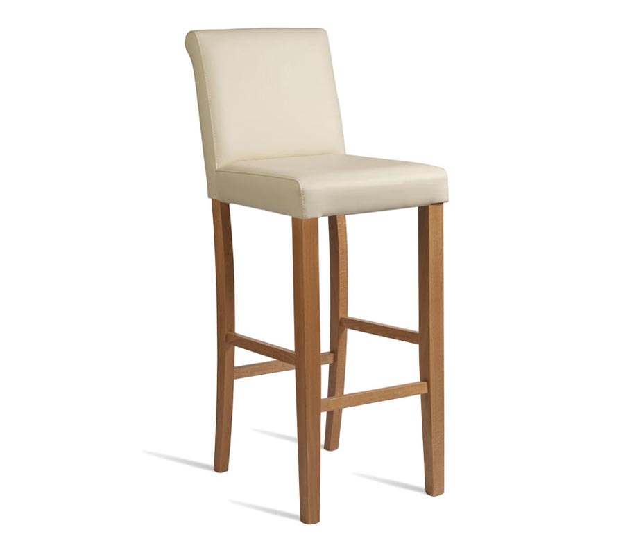Stratford Bar Stools in Black Cream or Brown Upholstery : stratford fully upholstered bar stool cream from www.warnercontractfurniture.co.uk size 924 x 784 jpeg 23kB