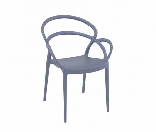 Tasca Outdoor Armchair Grey