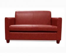 Tiffany 2 Seater Sofa Manhattan Scarlet