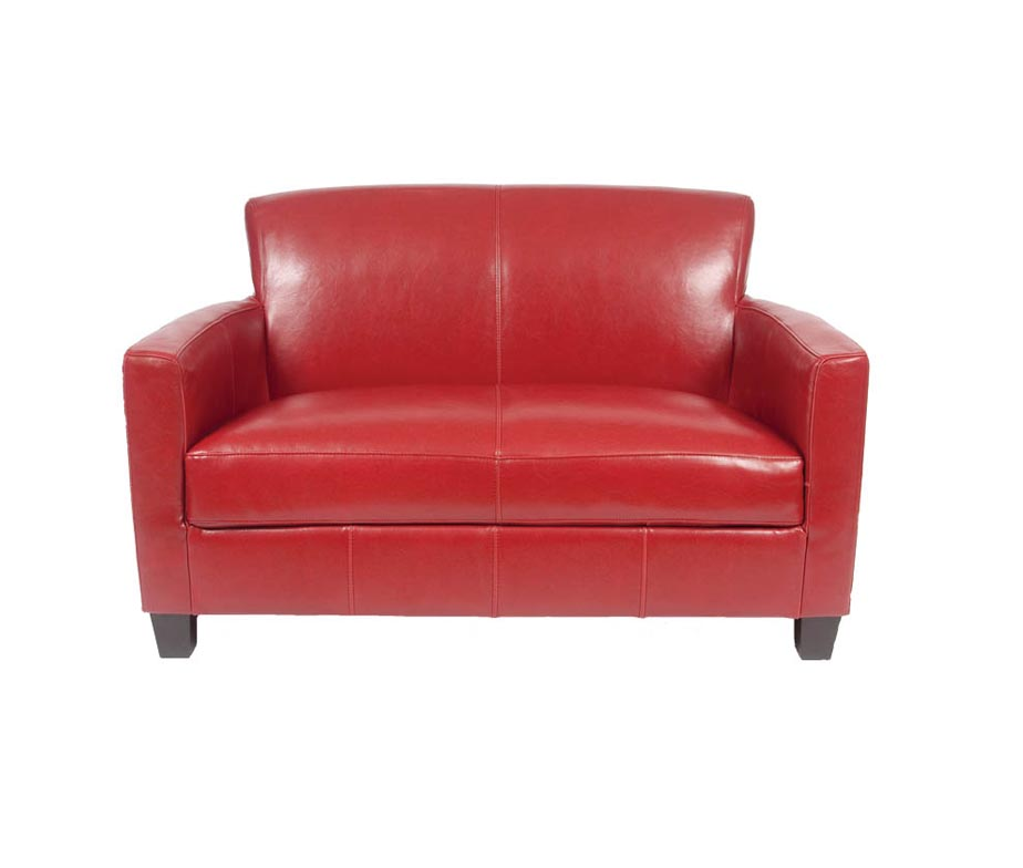 2 Seater Tiffany Leather Sofas by Warner Contract Furniture