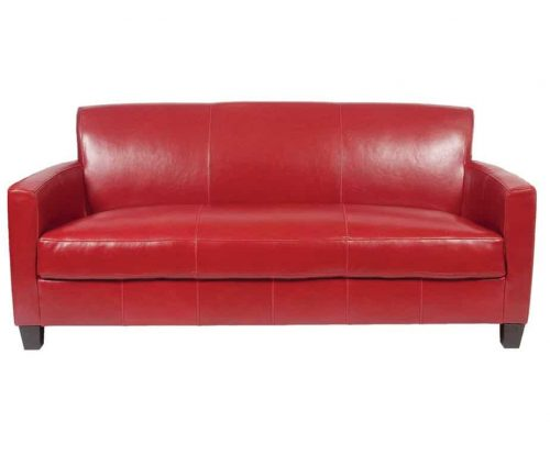 Tiffany 3 Seater Leather Sofa
