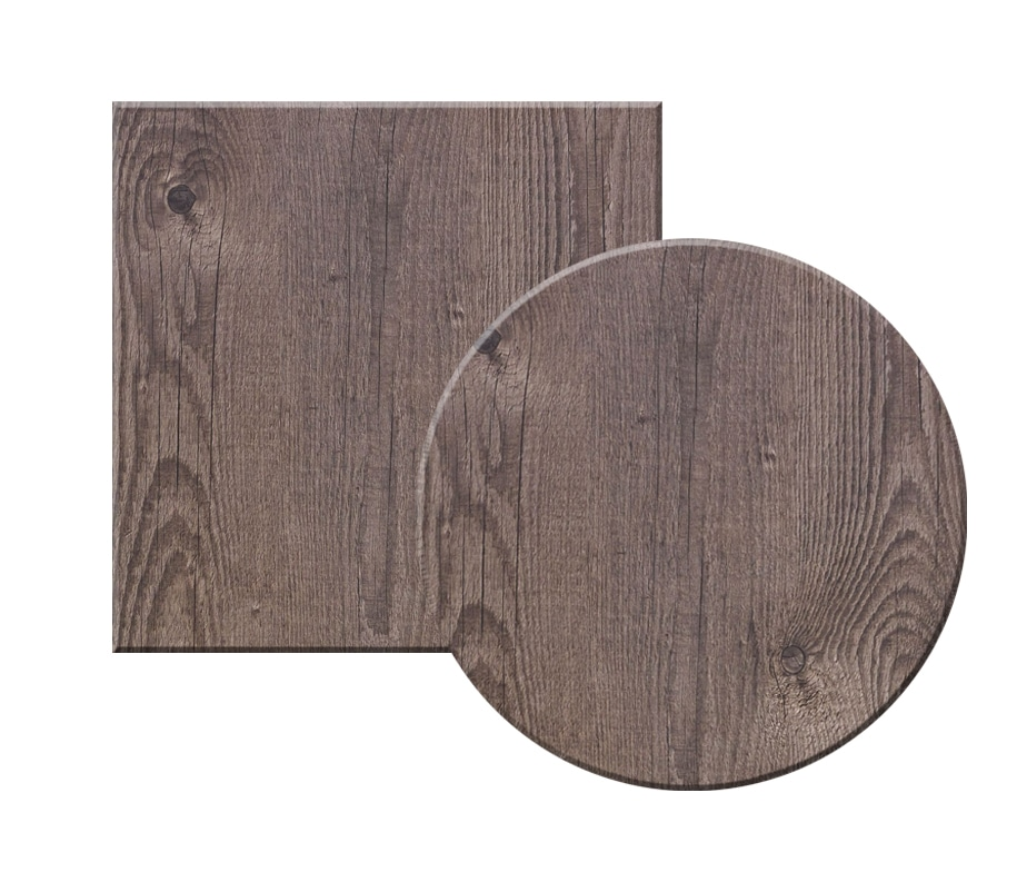Topalit Timber Outdoor Table Tops, Round Table Tops Uk
