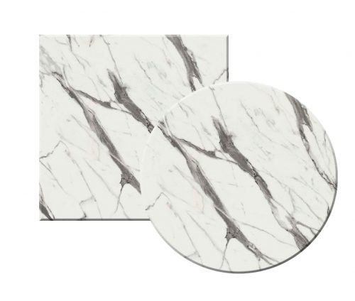 Topalit Outdoor Table Tops White Marble